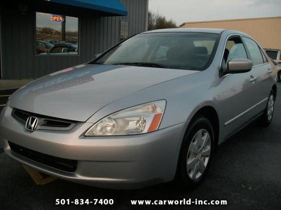 used 2004 honda accord lx 4dr sedan in sherwood ar at car. Black Bedroom Furniture Sets. Home Design Ideas