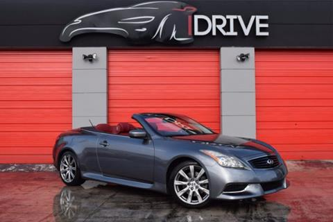 2010 Infiniti G37 Convertible for sale in Miami Gardens, FL