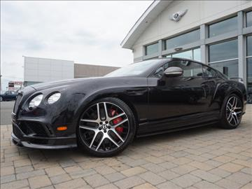 2017 Bentley Continental Supersports for sale in Parsippany, NJ