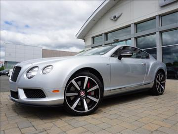 2014 Bentley Continental GT V8 S for sale in Parsippany, NJ