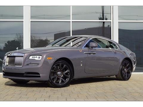 2018 Rolls-Royce Wraith for sale in Parsippany, NJ