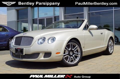 2011 Bentley Continental Gt For Sale Carsforsale