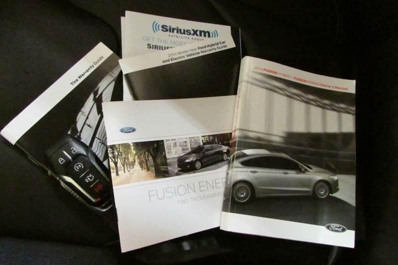 2014 Ford Fusion Energi Titanium 4dr Sedan - Union GA