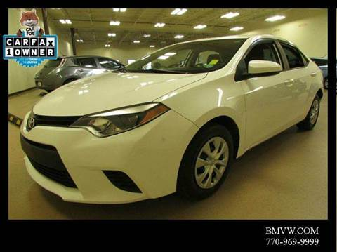 2014 Toyota Corolla for sale in Union, GA