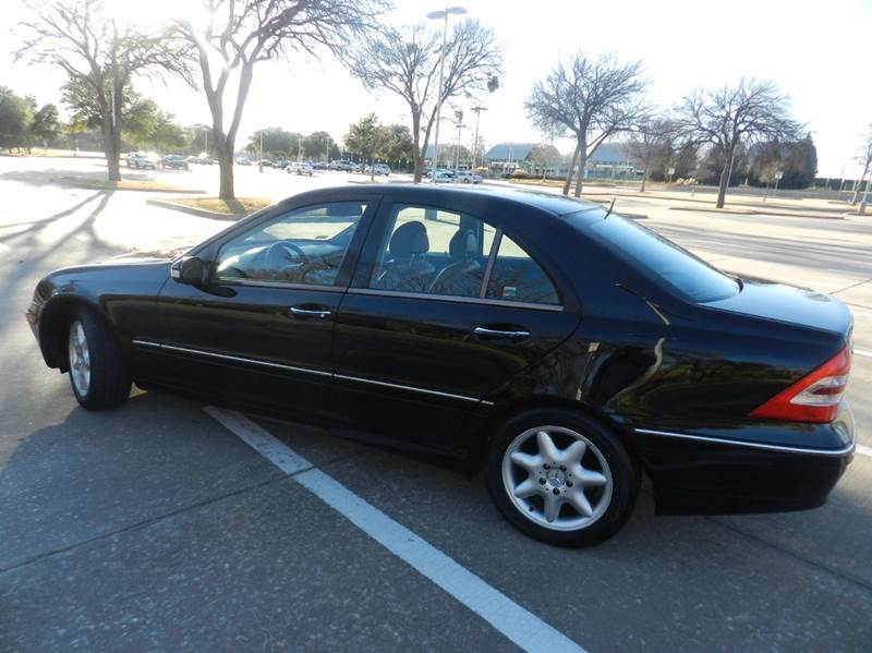 2002 mercedes benz c class c240 4dr sedan in dallas tx motor zone. Black Bedroom Furniture Sets. Home Design Ideas