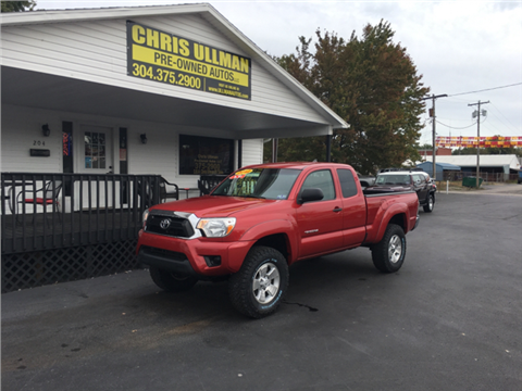 2012 Toyota Tacoma for sale in Williamstown, WV