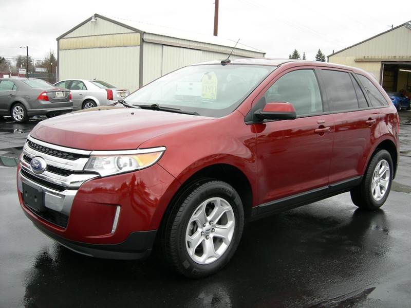 2014 ford edge awd sel 4dr suv in spokane valley wa. Black Bedroom Furniture Sets. Home Design Ideas