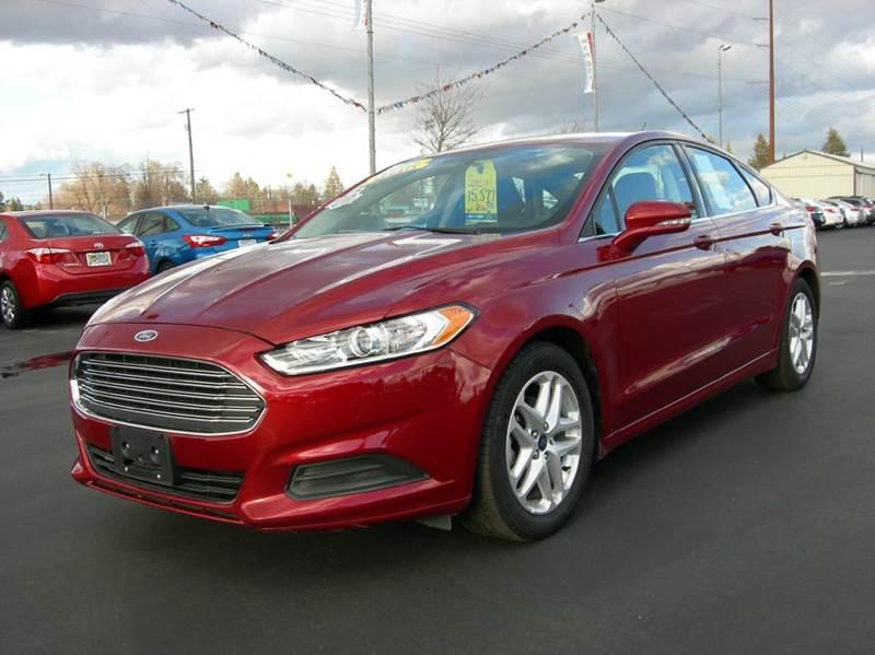 2016 ford fusion se 4dr sedan in spokane valley wa fresh start auto sales. Black Bedroom Furniture Sets. Home Design Ideas