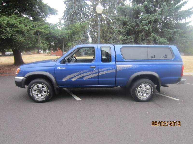 Exceptional 1998 Nissan Frontier XE 2dr 4WD Extended Cab SB   Portland OR