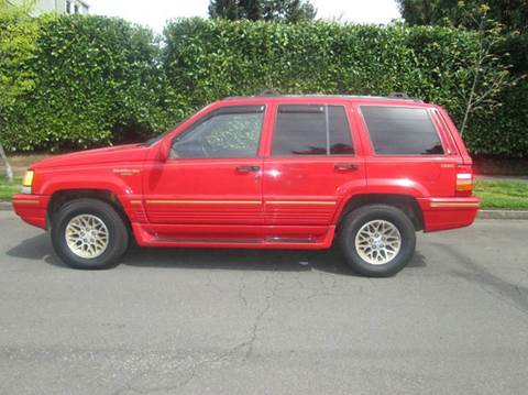 1995 jeep grand cherokee for sale. Black Bedroom Furniture Sets. Home Design Ideas