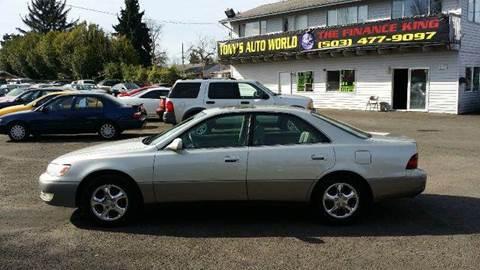 1998 Lexus ES 300 For Sale  Carsforsalecom