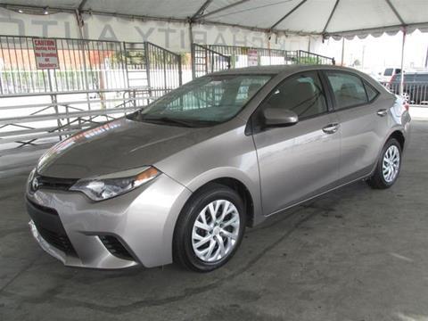 2014 Toyota Corolla for sale in Gardena, CA