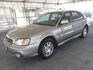 2003 Subaru Outback for sale in Gardena, CA