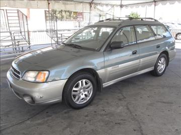 2001 Subaru Outback for sale in Gardena, CA