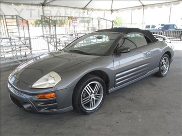2003 Mitsubishi Eclipse Spyder for sale in Gardena, CA