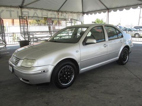 2001 Volkswagen Jetta for sale in Gardena, CA