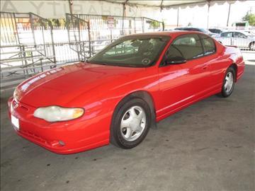 2001 Chevrolet Monte Carlo for sale in Gardena, CA