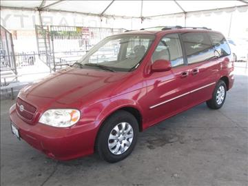 2004 Kia Sedona for sale in Gardena, CA