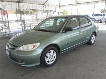 2004 Honda Civic for sale in Gardena, CA