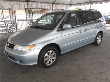 2003 Honda Odyssey for sale in Gardena, CA