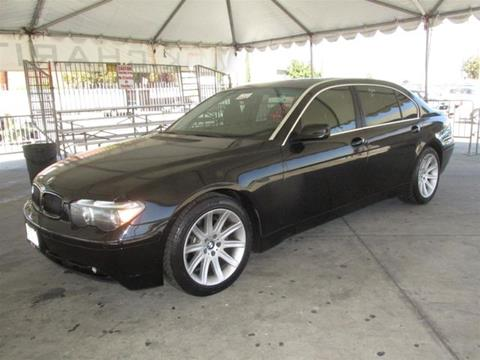 2003 BMW 7 Series for sale in Gardena, CA