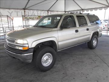2001 Chevrolet Suburban for sale in Gardena, CA