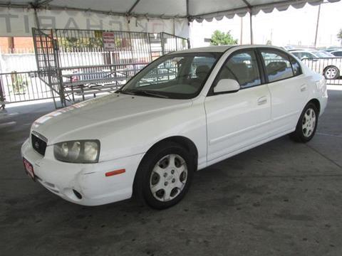 2001 Hyundai Elantra for sale in Gardena, CA