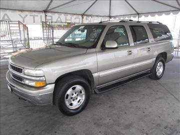 2002 Chevrolet Suburban for sale in Gardena, CA