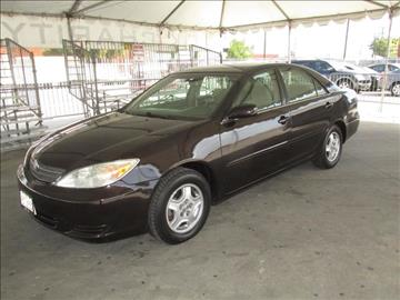 2002 Toyota Camry for sale in Gardena, CA