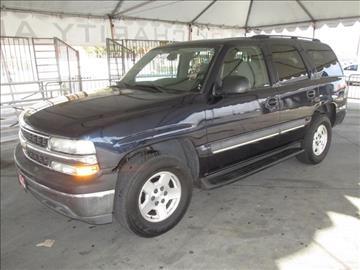 2004 Chevrolet Tahoe for sale in Gardena, CA