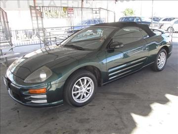 2001 Mitsubishi Eclipse Spyder for sale in Gardena, CA