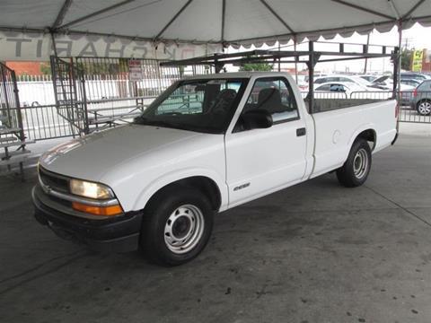 1999 Chevrolet S-10 for sale in Gardena, CA