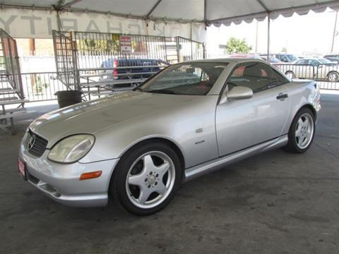 1999 Mercedes-Benz SLK for sale in Gardena, CA