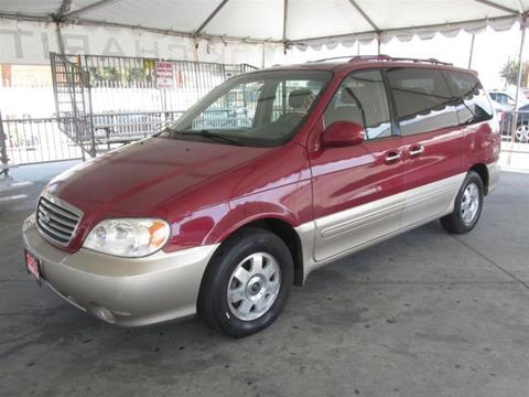 2003 Kia Sedona for sale in Gardena, CA