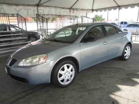 2008 Pontiac G6 for sale in Gardena, CA