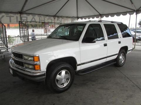 1996 Chevrolet Tahoe for sale in Gardena, CA