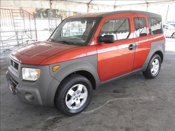 2003 Honda Element for sale in Gardena, CA