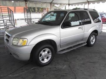 2002 Ford Explorer Sport for sale in Gardena, CA