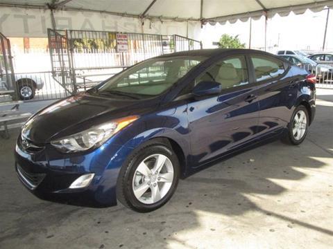 2013 Hyundai Elantra for sale in Gardena, CA