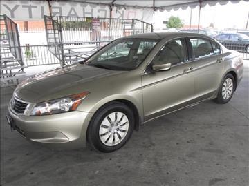 2008 Honda Accord for sale in Gardena, CA