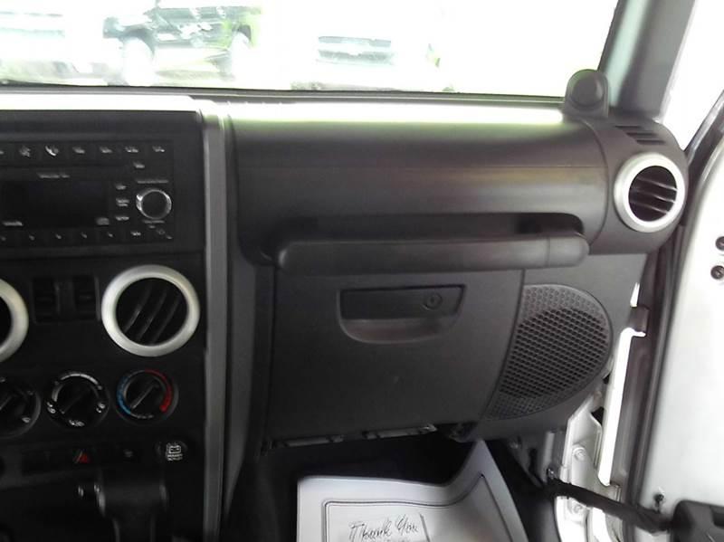 2008 Jeep Wrangler Sahara 4x4 2dr SUV - Abbeville LA