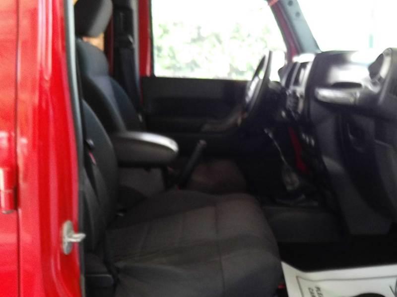 2011 Jeep Wrangler Unlimited Sport 4x4 4dr SUV - Abbeville LA