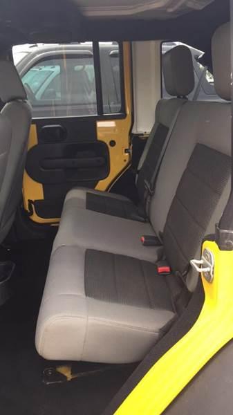 2008 Jeep Wrangler Unlimited 4x4 X 4dr SUV - Abbeville LA
