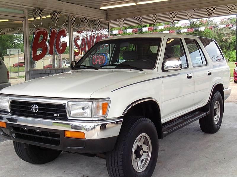 1994 Toyota 4Runner 4dr SR5 V6 4WD SUV - Abbeville LA