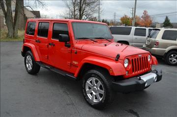 2015 Jeep Wrangler Unlimited for sale in Columbus, OH