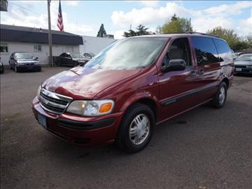 2003 Chevrolet Venture for sale in Hillsboro, OR