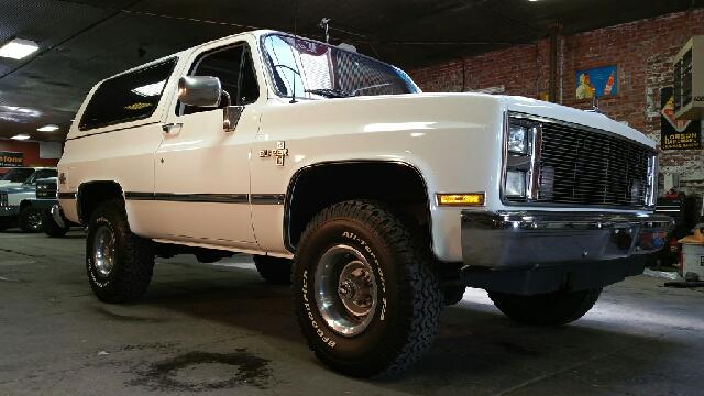 1988 Chevrolet Blazer 2dr Silverado 4wd Suv In Abilene Ks Chisholm