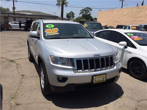 2012 Jeep Grand Cherokee for sale in Pacoima, CA