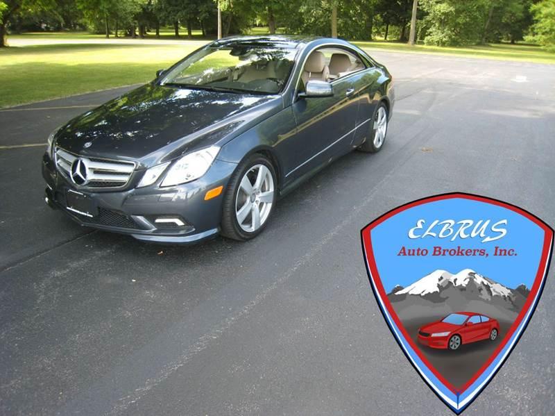 2011 Mercedes Benz E Class E550 2dr Coupe   Rochester NY