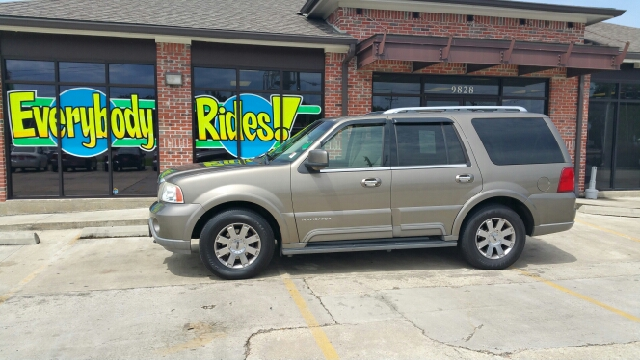 2003 LINCOLN NAVIGATOR LUXURY 4DR SUV pewter abs - 4-wheel adjustable pedals - power air suspen